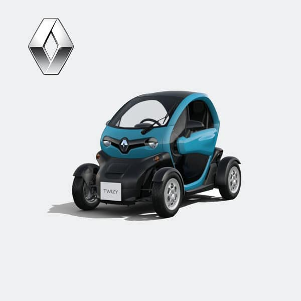 Location sans permis Renault Twizy – Bleu [tag]