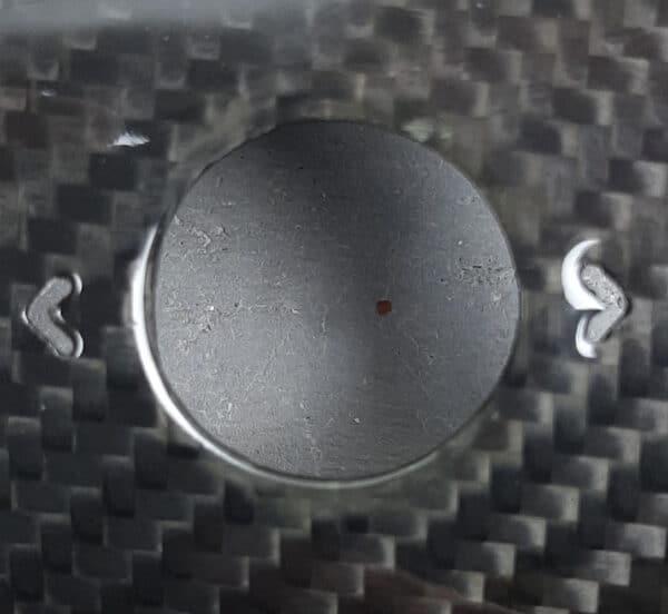 Fibre de carbone Insert volant en véritable carbone pour tesla model 3 & Y brillant