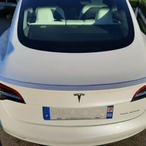 """Non classé Becquet arrière """"Look Perf"""" en  ABS pour Tesla Model 3 aileron"""