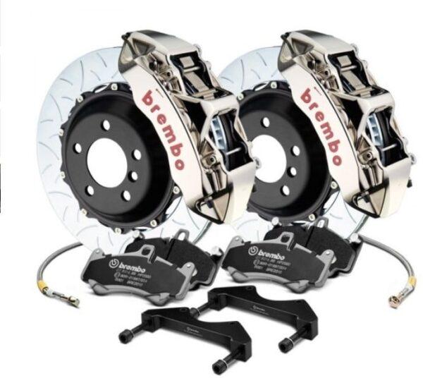 Model 3 Kit freins avant BREMBO 6 Pistons Monobloc Usiné GT-R pour Tesla Model 3 6