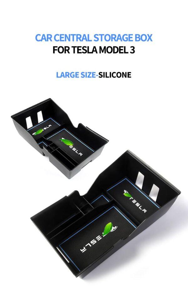 Promotions Organiseur de console centrale pour Tesla Model 3 (Modèles 2018 à 2020) centrale