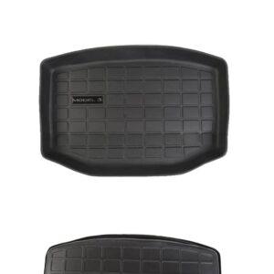 Model 3 Tapis 3D TPE sous coffre arrière (cargo) pour Tesla Model 3 3d