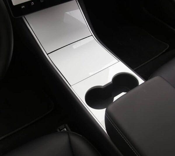 Intérieur Couvre console centrale ABS pour Tesla Model 3 avant 2021 centrale