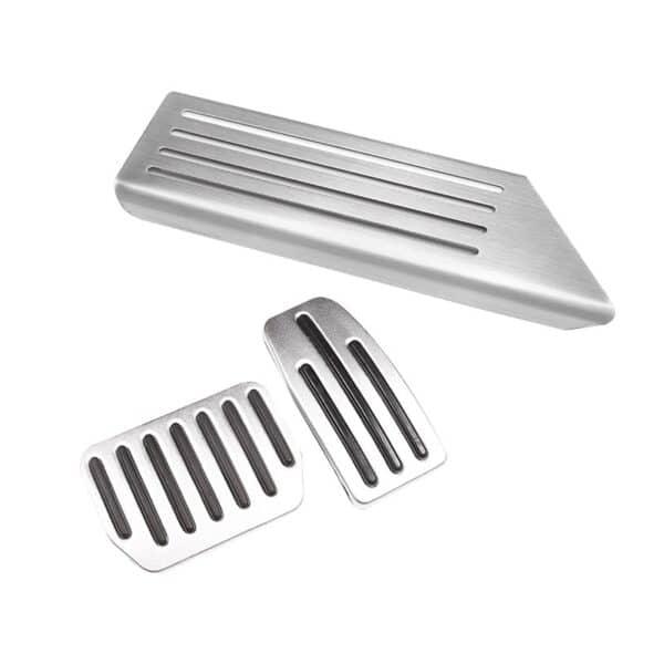 Intérieur Pédales aluminium Tesla Model 3 & Y [tag]