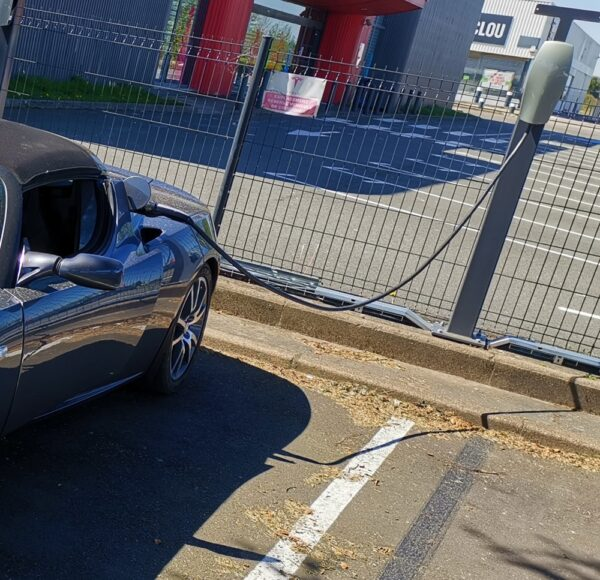 Autres Adaptateur Type 2 pour Tesla Roadster [tag]
