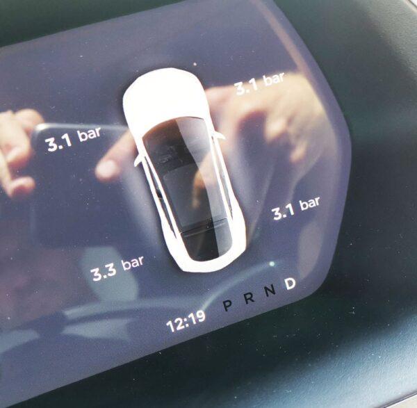 Autre Valve Capteur de Pression TPMS 433Mhz ou BLE pour Tesla model S, 3, X, Y