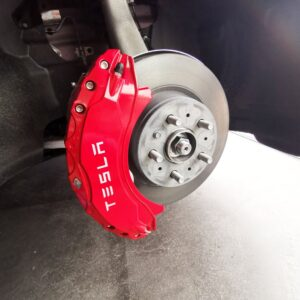 Non classé Caches étriers avants et arrières pour Tesla Model 3 caches