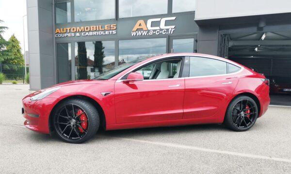 Extérieur Caches étriers avants et arrières pour Tesla Model 3 caches