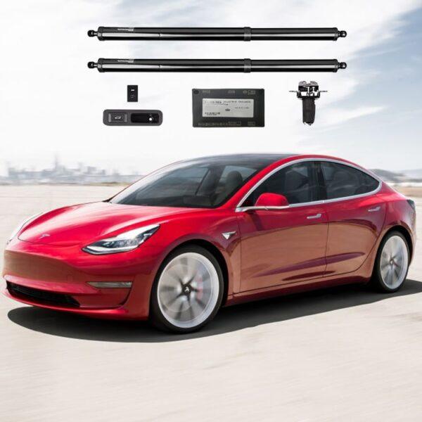 Extérieur Vérins Coffre avant et arrière électriques Tesla Model 3 HANSSHOW (modèle de 2018 à 2020 uniquement) anant
