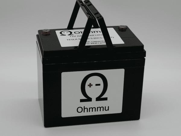 Extérieur Batterie au lithium Ohmmu 12V pour TESLA Model S, 3, X, Y et Roadster [tag]