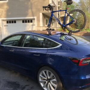 Model 3 Porte vélo SEASUCKER à Ventouse pour Model S, 3, X, Y et Roadster [tag]
