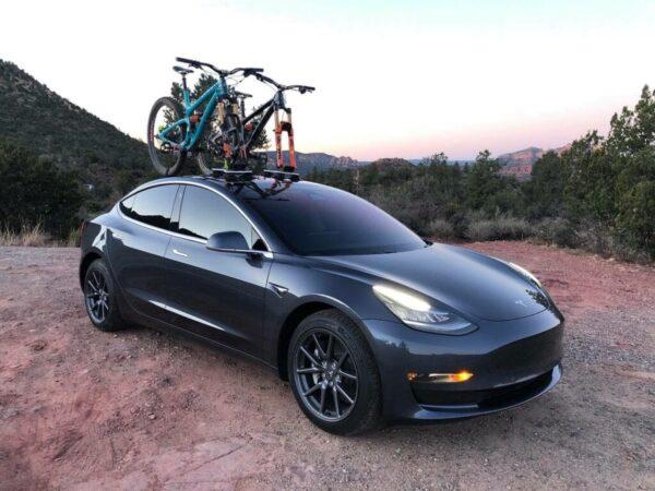 Autres Porte vélo SEASUCKER à Ventouse pour Model S, 3, X, Y et Roadster [tag]
