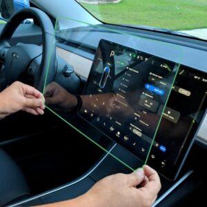 Intérieur Verre de protection pour l'écran de votre Tesla Model 3 & Y écran