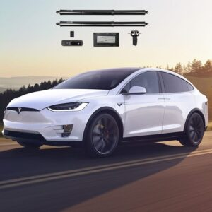 Non classé Vérins Coffre avant et arrière électriques pour Tesla Model X HANSSHOW anant