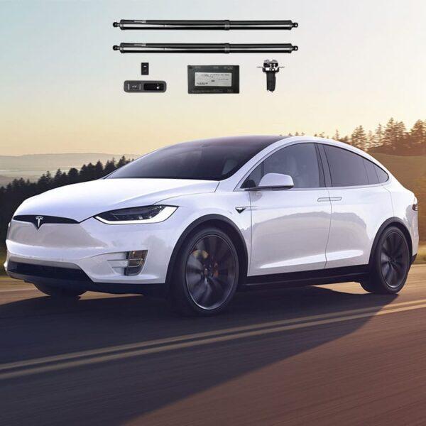 Extérieur Vérins Coffre avant et arrière électriques pour Tesla Model X HANSSHOW anant