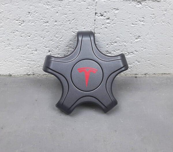 Extérieur Cache centrale pour jante Aéro 18 Tesla Model 3 cache