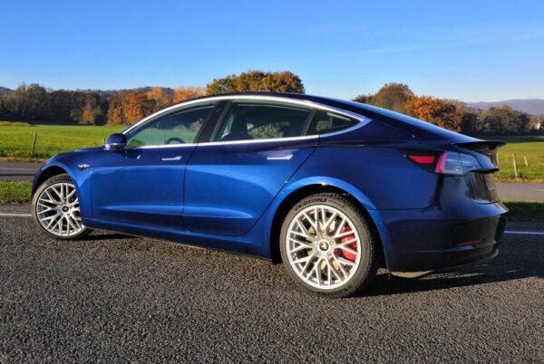 Model 3 Pack Roues Style DTM pour Tesla Model S, 3, X jantes