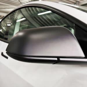 Model 3 Coques de rétroviseur noir mat ou brillant pour Tesla Model 3 & Y coques