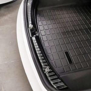 Model 3 Protège seuil de coffre en métal pour Tesla Model 3 arrière