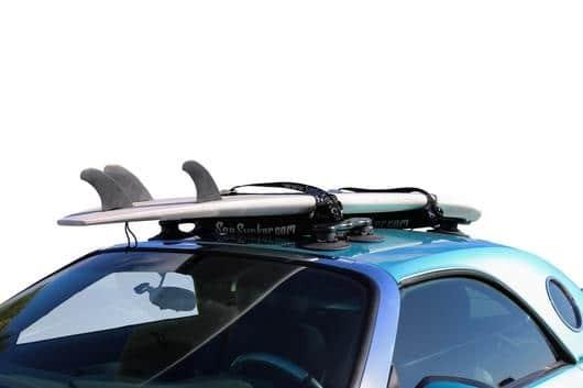 Autres Porte planche de  surf SEASUCKER à Ventouse pour Model S, 3, X, Y et Roadster board
