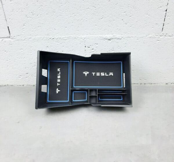 Intérieur Organiseur de console centrale pour Tesla Model 3 (Modèles 2018 à 2020) centrale