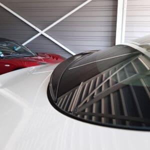 Non classé Aileron de rétention d'eau noir brillant pour Tesla Model 3 aileron