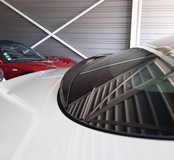 Extérieur Aileron de rétention d'eau noir brillant pour Tesla Model 3 aileron