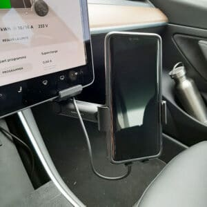 Promotions Support de téléphone avec charge à induction pour Tesla Model 3 & Y chargeur induction