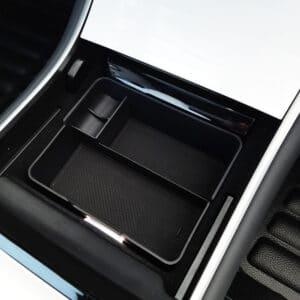 Promotions Organiseur de console centrale petit model pour Tesla Model 3 (non compatible avec 2021) centrale