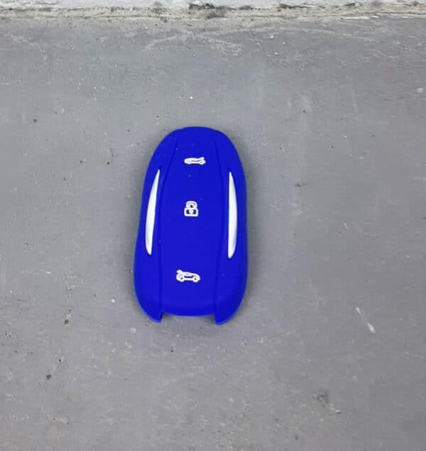Extérieur Protection silicone pour Clé Fob Tesla Model S, 3, Y porte clés
