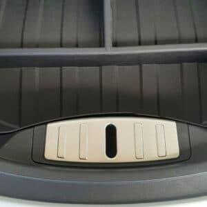 Model 3 Enjoliveur en métal coffre avant (Frunk) pour Tesla Model 3 coffre avant