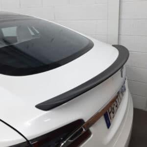 Fibre de carbone Becquet en véritable carbone pour Tesla Model S becquet