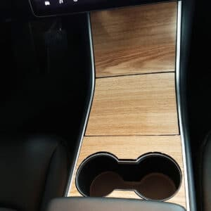 Model 3 Covering aspect Bois pour console centrale pour Tesla Model 3 3M