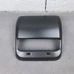 Fibre de carbone Couvre aérateur arrière carbone pour Tesla Model 3 aérateur