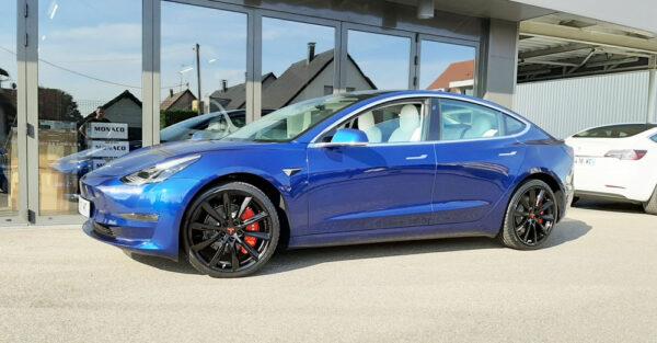 Model 3 Pack Roues Style Turbine pour Tesla Model S, 3, X jantes