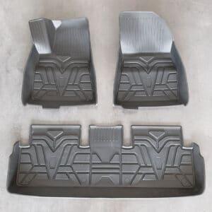 Model 3 Tapis intérieur caoutchouc toutes saisons pour Tesla Model 3 3d