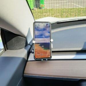 Non classé Support de téléphone spécialement adapté à la Tesla Model 3 & Y support téléphone
