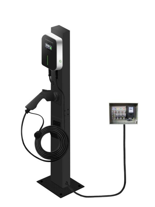 Recharge Borne de recharge mural pour véhicule électrique 3.6 à 22 kw Type 2 borne recharge