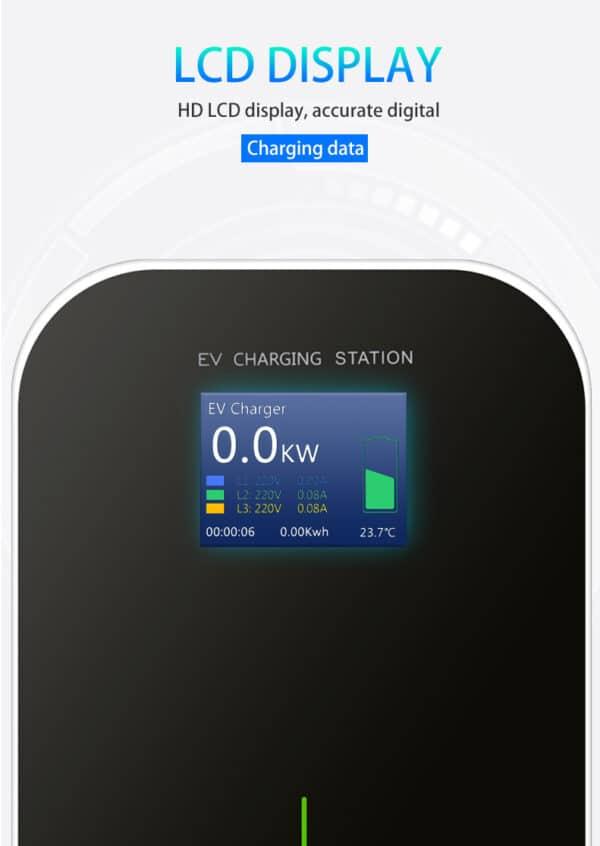 Autres Borne de recharge mural pour véhicule électrique 3.6 à 22 kw Type 2 borne recharge