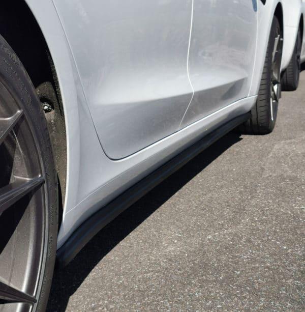 Extérieur Bas de caisse latéraux MAXTON Design pour Tesla Model 3 bas de caisse