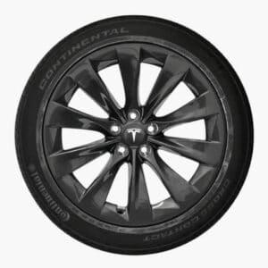 Model X Pack Roues Turbine Sonic carbon 20 Pouces Reconditionnées pour Tesla Model X