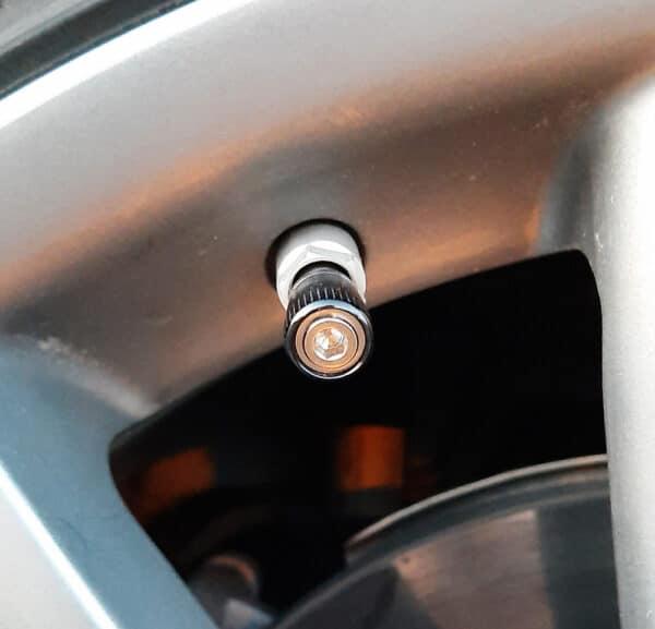Autres Bouchons de valves anodisés anti-effraction bouchon