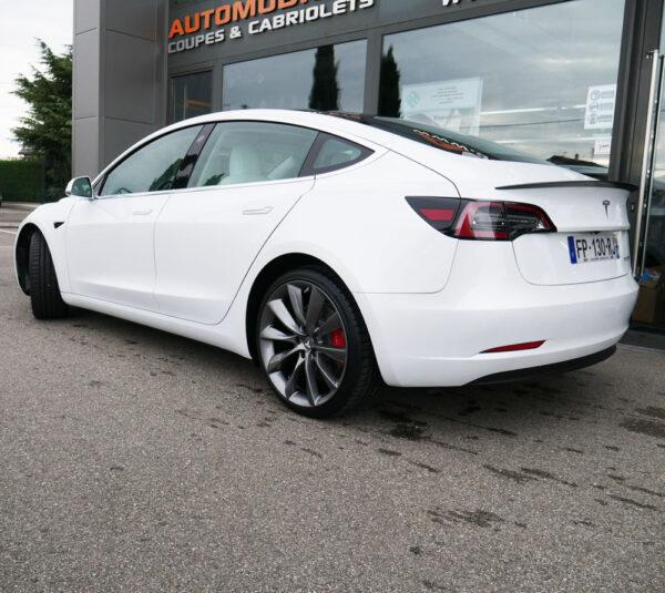 Model 3 Pack Roues 20 Pouces Style Turbine 2.0 pour Tesla Model S, 3, X jantes