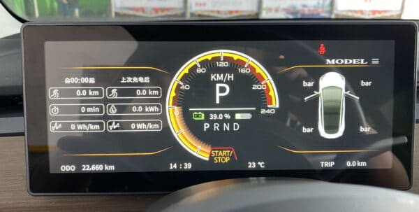 Intérieur Compteur digital pour Tesla Model 3 & Y dashboard