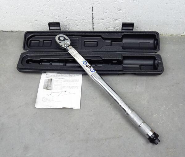 Autre Clé Dynamométrique 40-210 NM Longueur 470mm 1/2″ [tag]