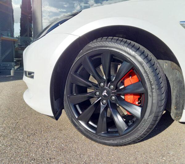 Model 3 Pack Roues ZAX Turbin X pour Tesla Model S, 3, X jantes