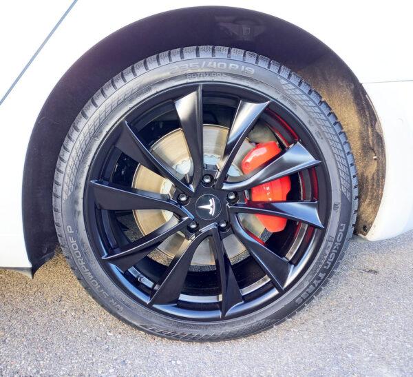 Model 3 Pack Roues ZAX V5 pour Tesla Model S, 3, X jantes