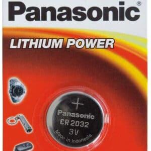 Model 3 PANASONIC CR2032 CR2354 Lithium Pile bouton 3V pour Télécommande