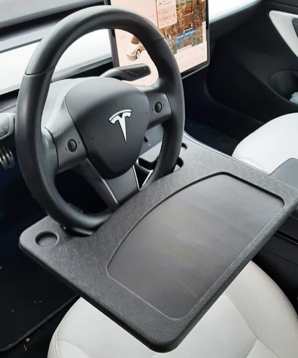 Intérieur Plateau repas / Travail pour Tesla Model 3 & Y plateau