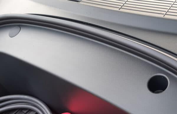 Extérieur Bouchons de Frunk (Lot de 2 pour le coffre avant) Tesla Model 3 après août 2020 carbone